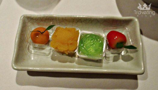 Food at Banyan Tree Resort Bangkok