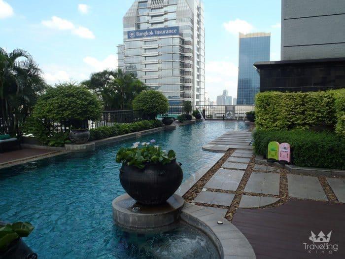 The Pool at the Banyan Tree Resort Bangkok
