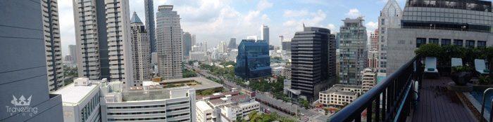 Views from Banyan Tree Resort Bangkok