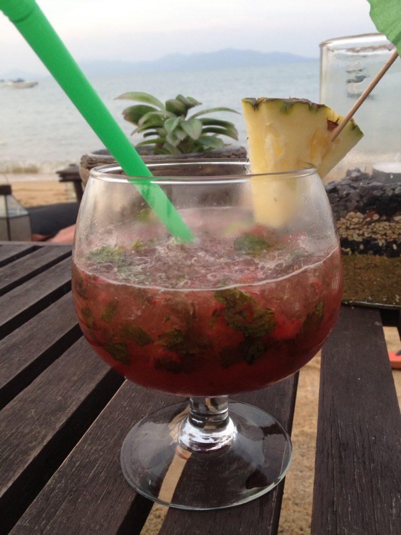 Cocktails at Coco Tams at Fishermans Village Bophut Samuii