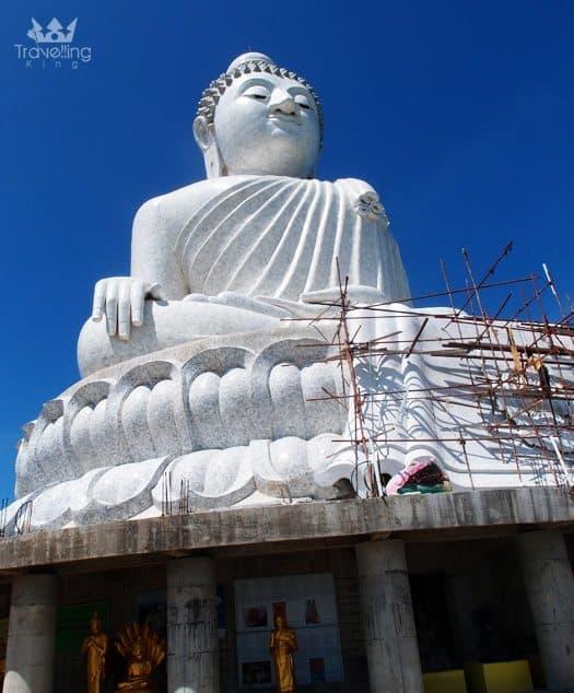 Big Buddha on the top of Nakkerd Hill