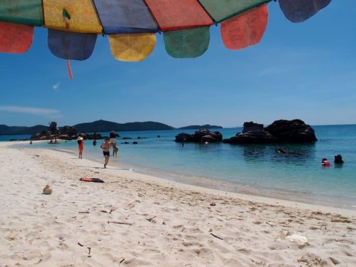 Three Island Tour Featuring Coral Island