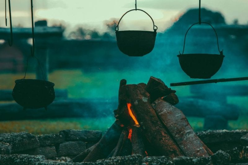 Camping - Food and cooking