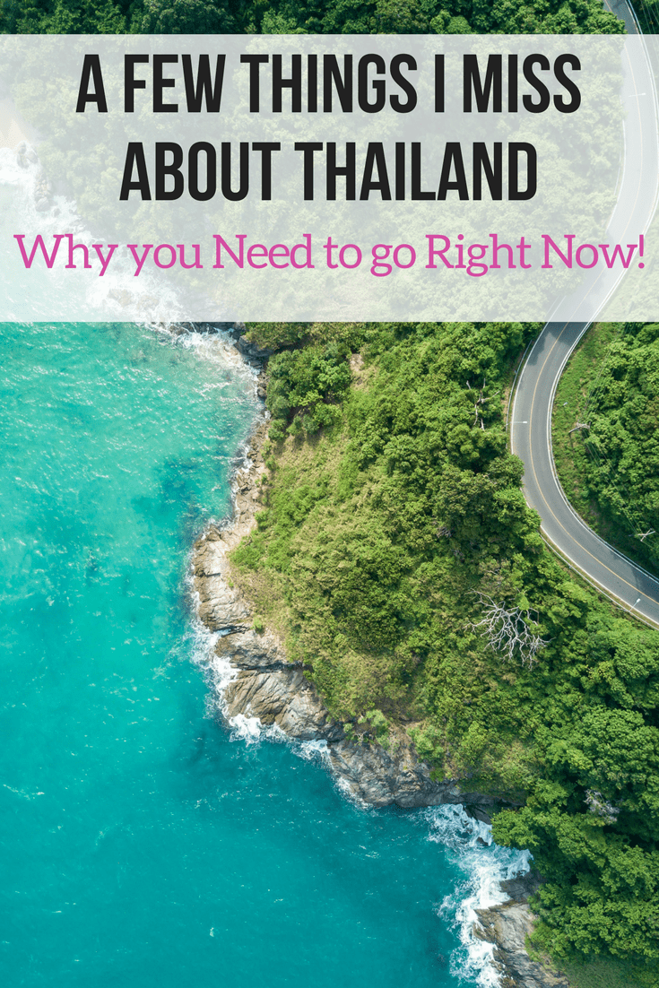 A Few Things I Miss About Thailand and Why you Need to go Right Now! Thailand is a beautiful place, filled with amazing sights and kindhearted people. I've been lucky enough to visit Thailand several times, each time I leave I feel like there is a part of me missing!