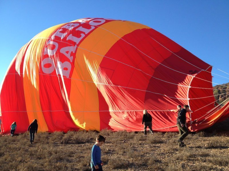 Hot Air Ballooning in the Flinders