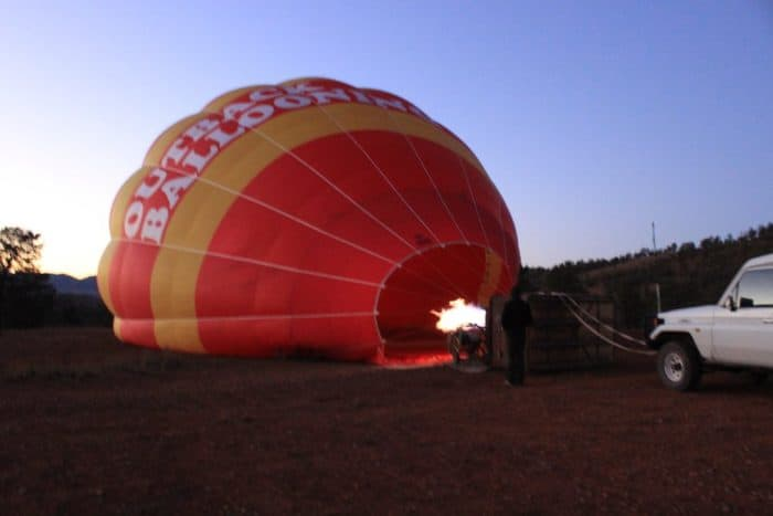 Hot Air Ballooning in the Flinders (PHOTO BLOG) Part 1