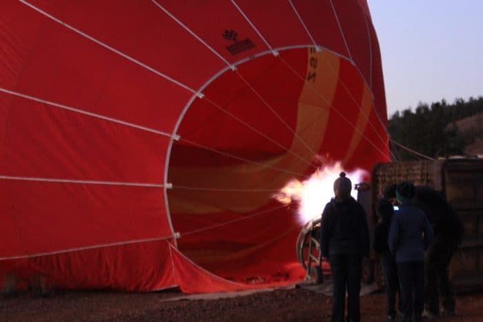 Hot Air Balloon Flight with Richard from Outback Ballooning