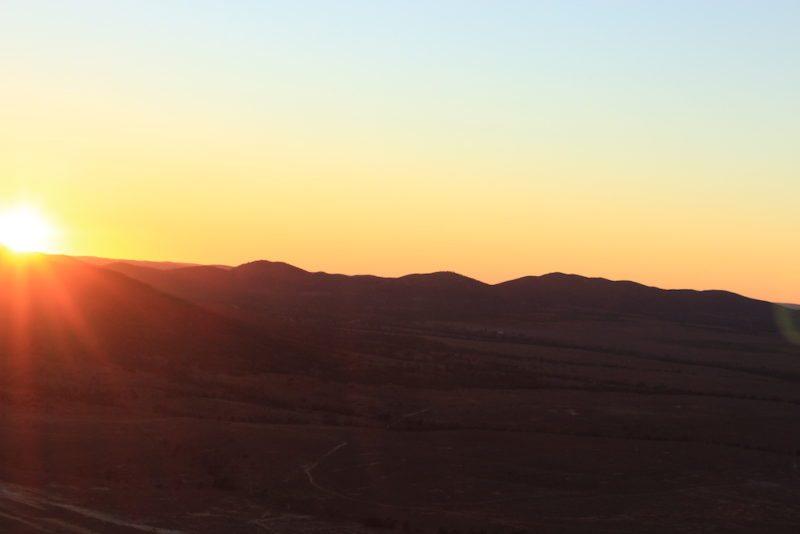Hot Air Ballooning in the Flinders