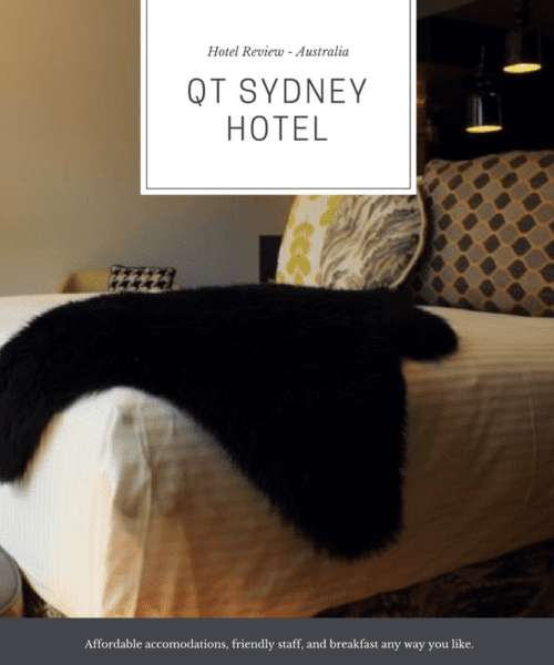 A Review of the Qt Hotel Sydney
