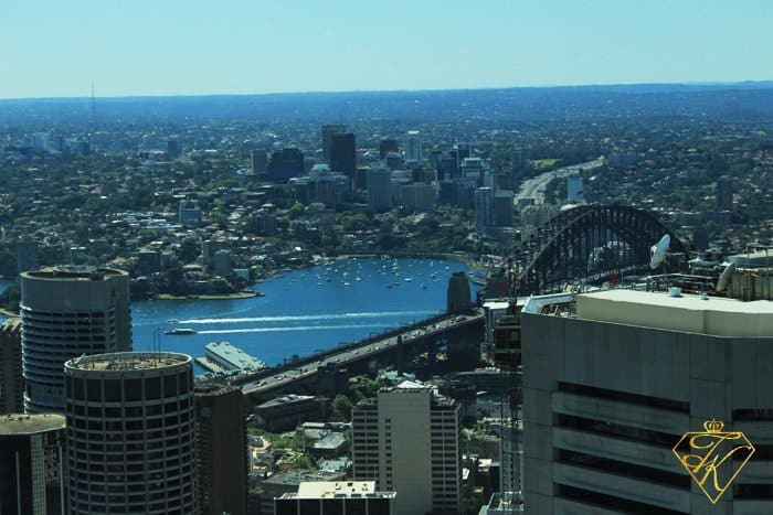 A View from up High at Sydney Tower Eye