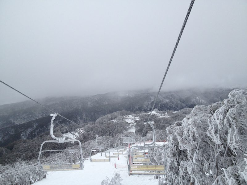 Mount Buller Snowfields in Winter