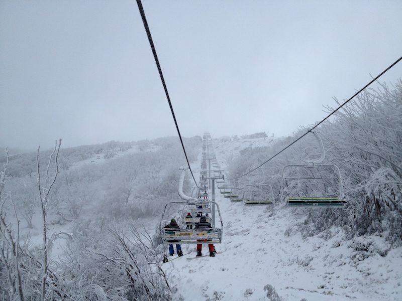 Mount Buller Snowfields in Winter