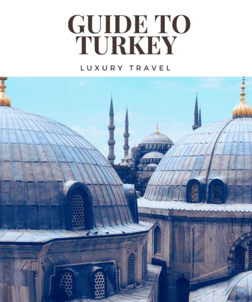 The Luxury Travel to Turkey