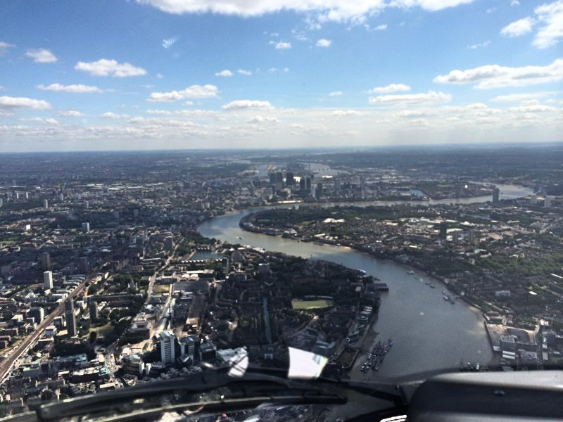 The best way to see London with The London Helicopter
