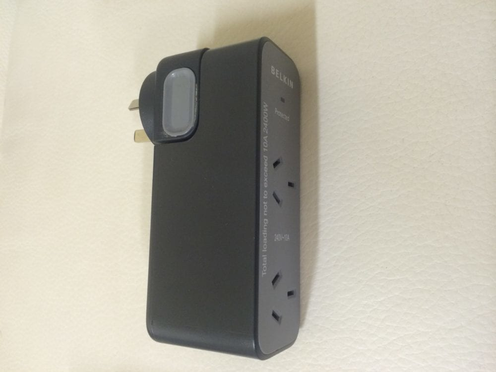 The Ultimate Travel Adaptor Belkin Surge Protector – Product Review