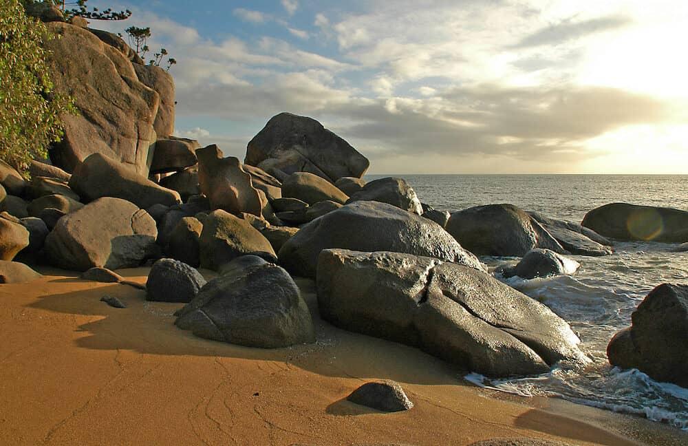 horseshoe bay on magnetic island, qld., australia