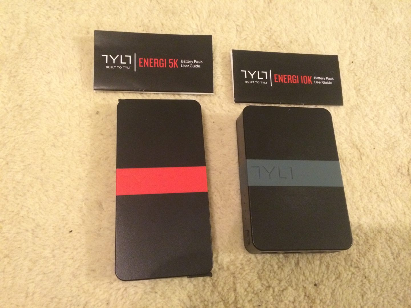 TYLT Portable 5K+ and 10K Battery Packs – Product Review