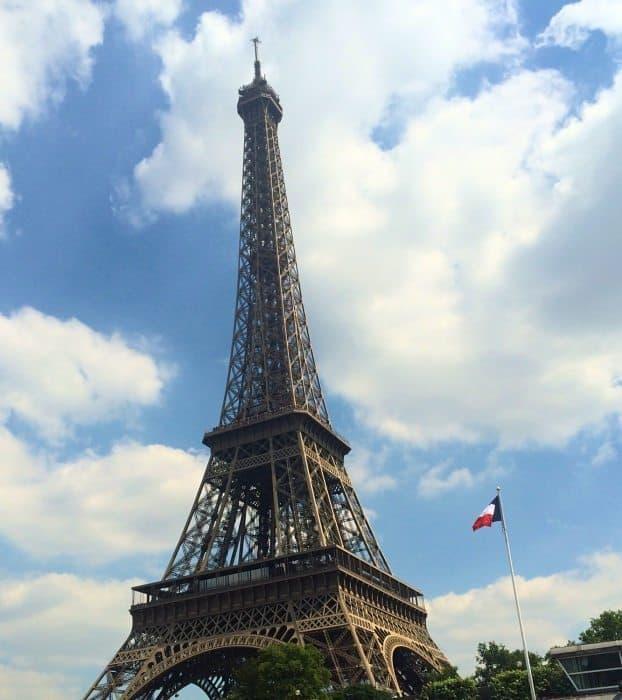 Eiffel tower day trip