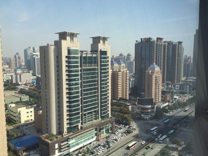 View from Horizon Club King room in the Shangri-La Xian