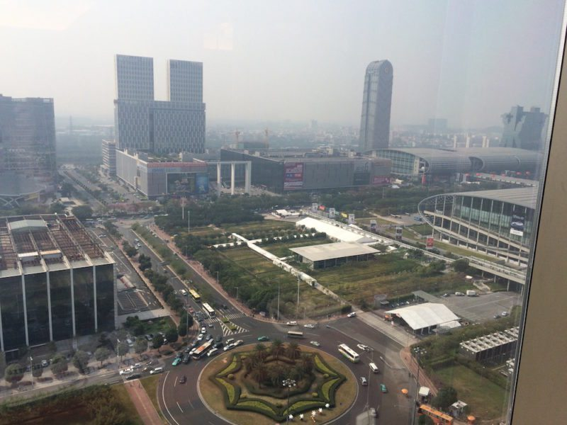 Canton fair view from Shangri-La Guangzhou10