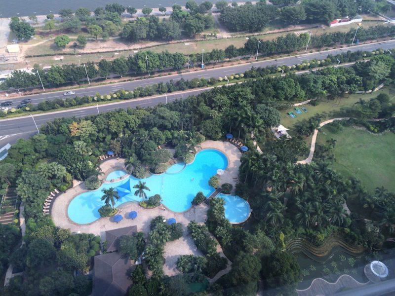 Pool at the Shangri-La Guangzhou