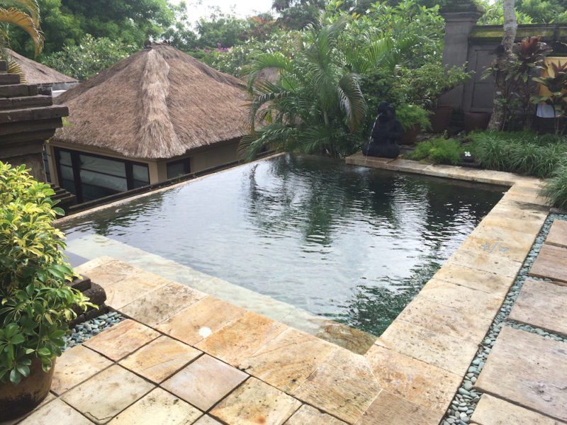Private Pool Hotel Review of Four Seasons Jimbaran Bali