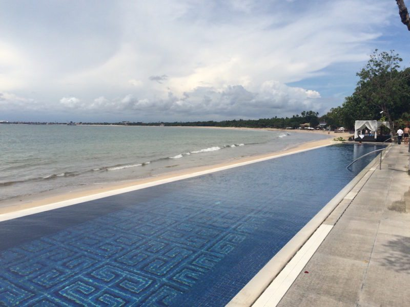 Pool Terrace at Four Seasons Jimbaran Bali