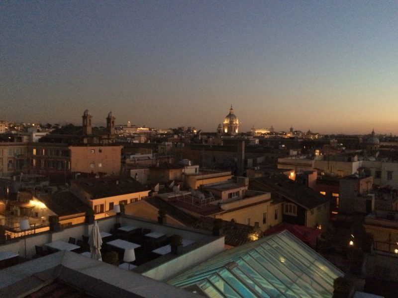 Hotel Review of THE FIRST Luxury Art hotel Rome