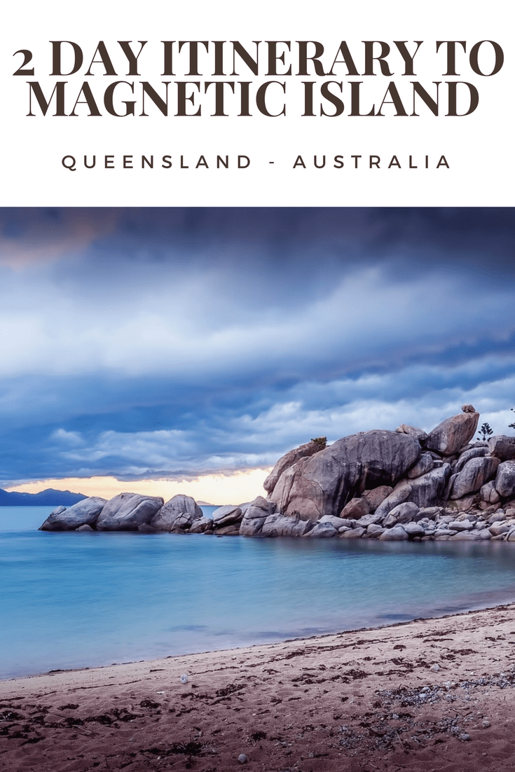 2 day itinerary to Magnetic Island