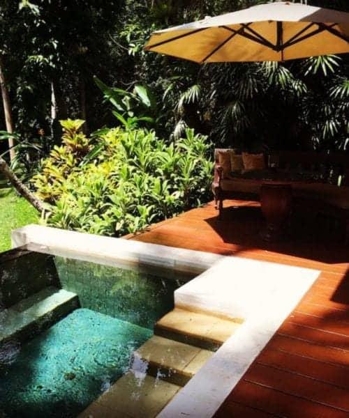 Private pool at Four Seasons Resort Bali at Sayan