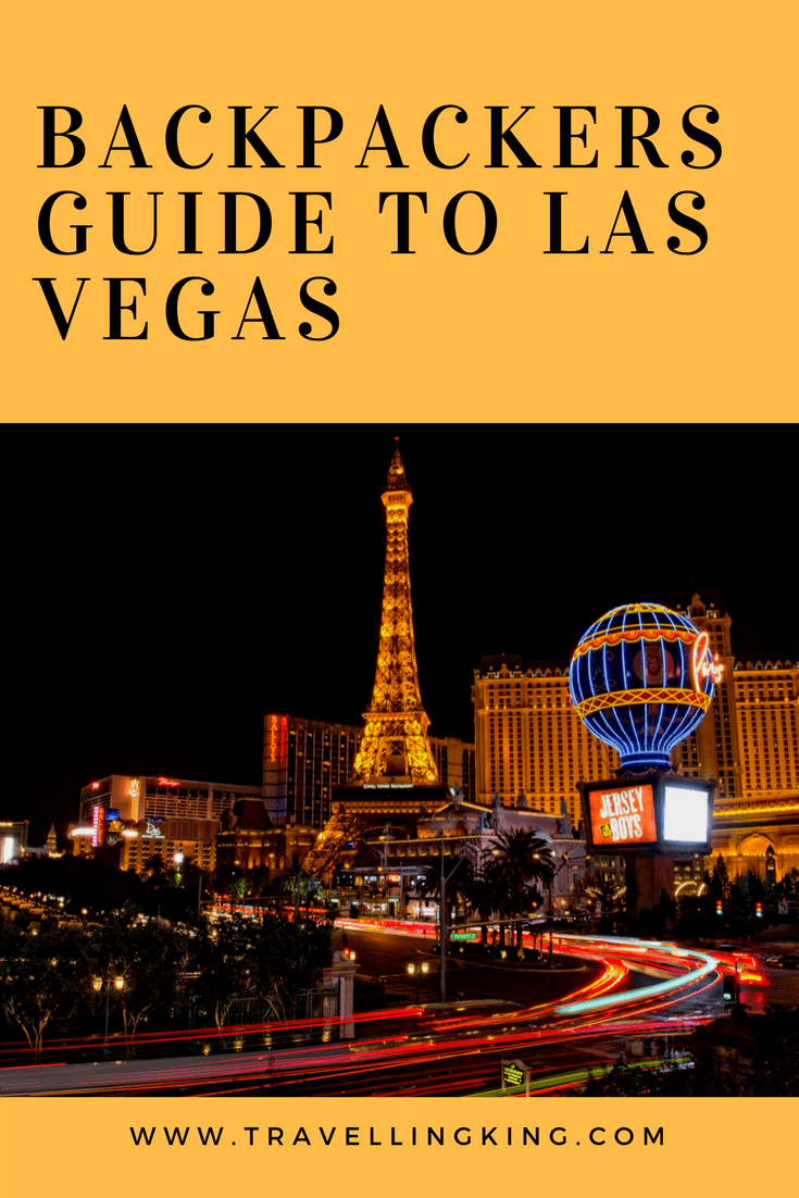 a backpackers guide to las vegas rh travellingking com Flamed Vega Wagons Flamed Vega Wagons