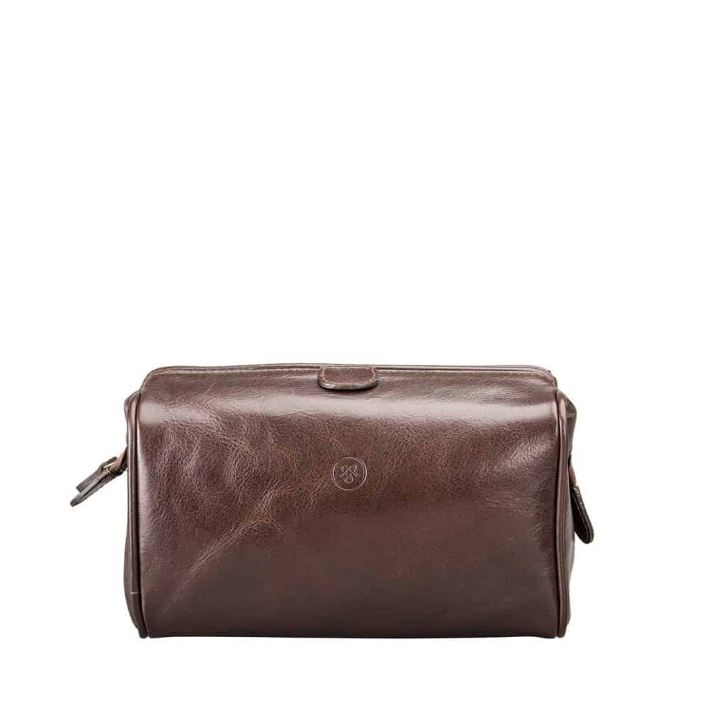 714d0940c8f3 Product Review – The Luxurious Raffaelle Leather Washbag from Maxwell Scott  Bags