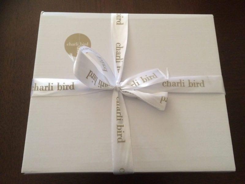 Charli Bird cashmere poncho