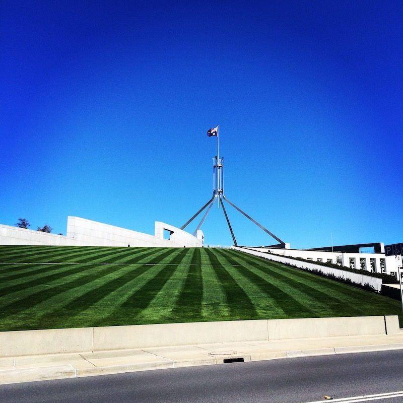 Captial Hill (aka Parliament house) Canberra