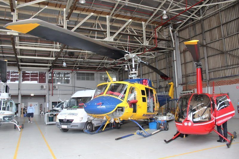 Helicopter tour of Yarra Valley in Victoria