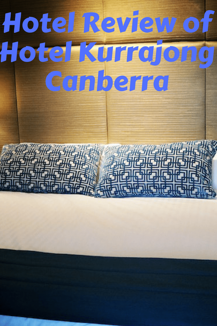 Hotel Review of Hotel Kurrajong Canberra