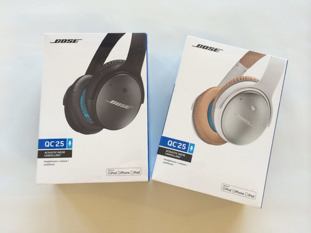 Bose Quiet Comfort 25 – The ultimate noise cancelling headphones on the market for travellers