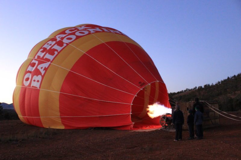 Hot Air Ballooning in the Flinders Ranges