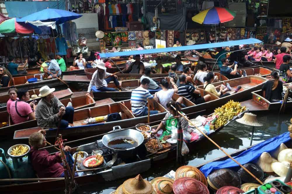 Bangkok Floating Markets