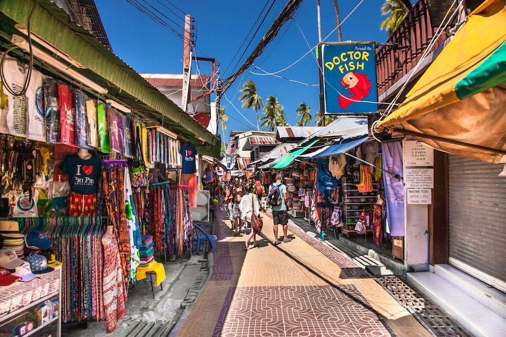 Where to go shopping in Phuket?
