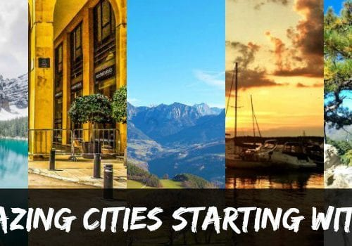 Cities starting with B