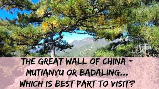 Which is best part to visit The great wall of China