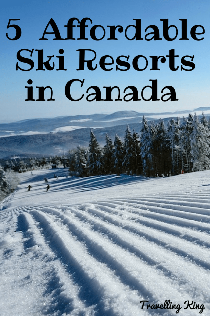 5 of the Most Affordable Ski Resorts in Canada