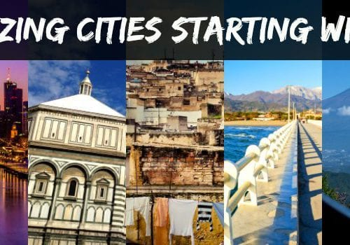 Cities starting with F