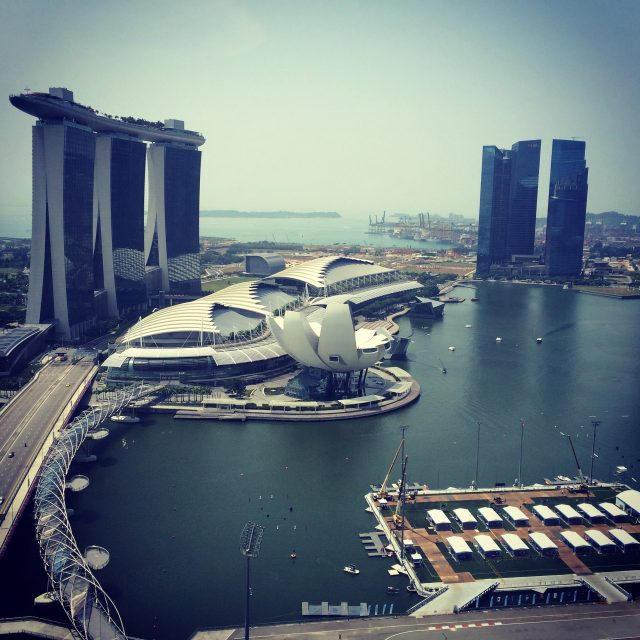 Singapore Marina Bay Sands View