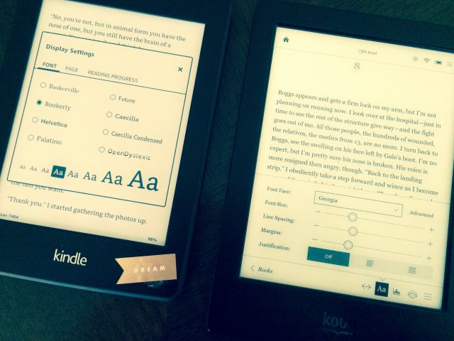 The Differences Between Kobo and Kindle and Why Kobo is Better!!