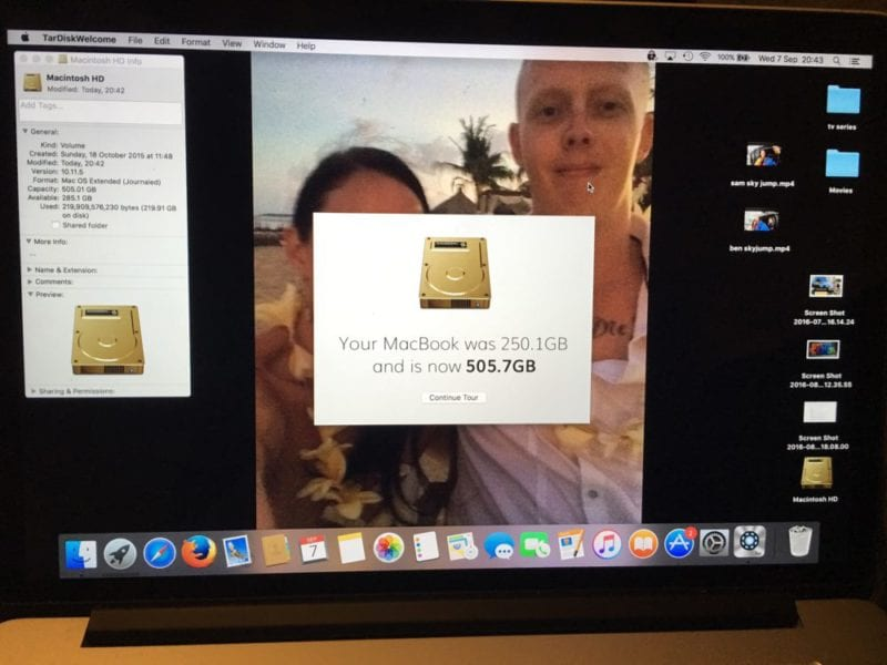 Increase the storage on your Mac withTardiskPear - Rview