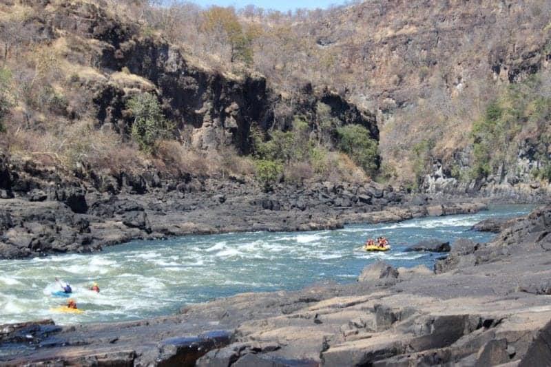 The Magnificent Victoria Falls
