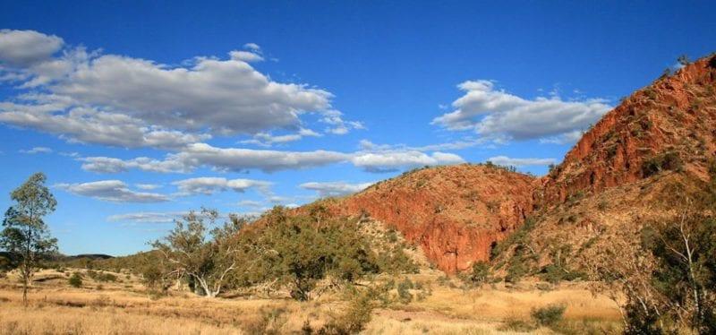 Glen Helen Gorge in Northern Territory