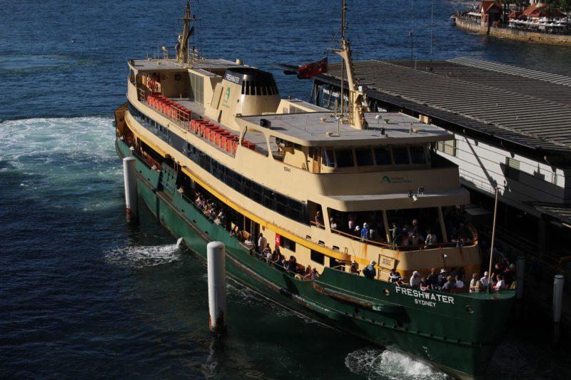 Ferry in Sydney